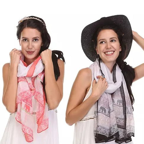 Eli Scarves From TRUNK SHOW Collection
