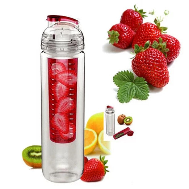 shopify-Fruitcola Dome Fruit Infuser Water Bottle-1