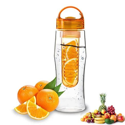 shopify-Fruitzola JAMMER Fruit Infuser Water Bottle In 4 Colors-1