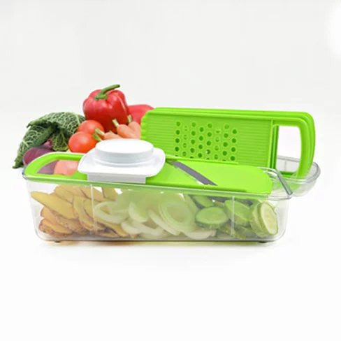 shopify-GO GREEN Veggie 4 in 1 Grinder, Slicer, Cutter And Shredder-1