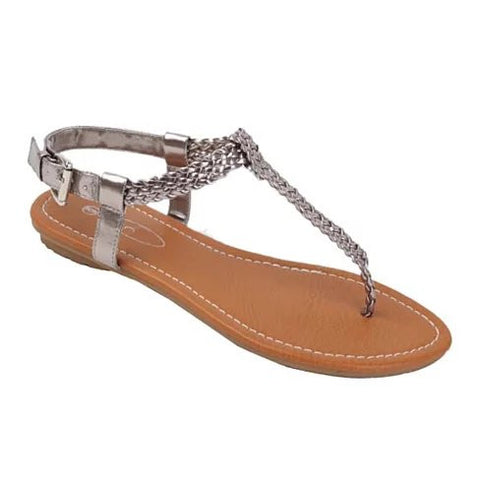 Greek Chic Knitted Sandals - VistaShops - 2
