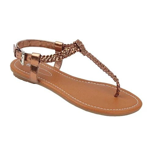 Greek Chic Knitted Sandals - VistaShops - 4