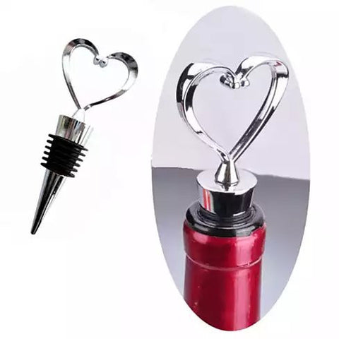 Hearty Wines Pair Of Wine Stoppers For Wine Lovers - VistaShops - 3