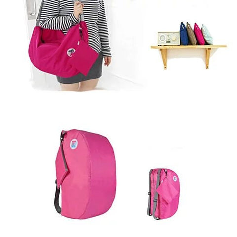 Jack And Jill The Duffle And The Backpack 2 IN 1 Bag - VistaShops - 2