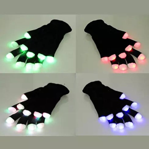 Jolly Glowing Gloves Let There Be Light At Your Fingertips - VistaShops - 1