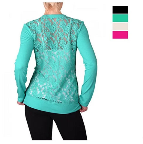 LACE LOVE Floral Cardigans in 4 Colors - VistaShops - 2