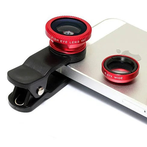 shopify-3-in-1 Universal Clip on Smartphone Camera Lens - 6 Colors-2