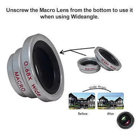 shopify-3-in-1 Universal Clip on Smartphone Camera Lens - 6 Colors-5