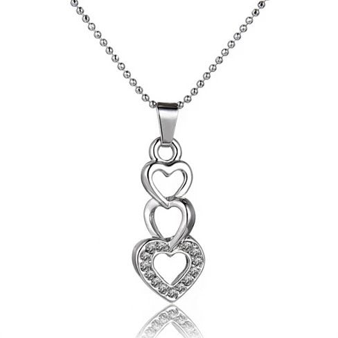 Love Story Three Phases Of Love Necklace - VistaShops - 2