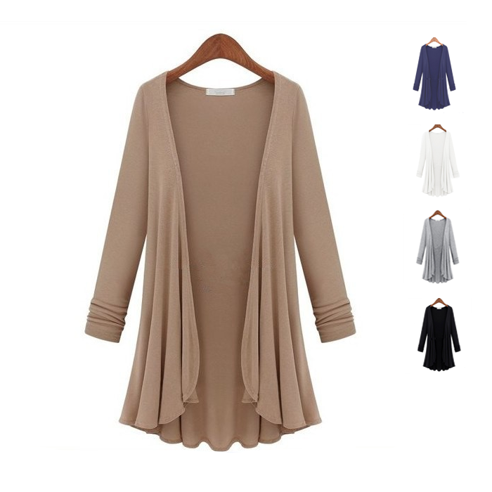 shopify-Lux Drapes Classic Cardigans In 5 Colors-1