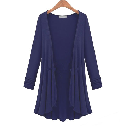 Lux Drapes Classic Cardigans In 5 Colors