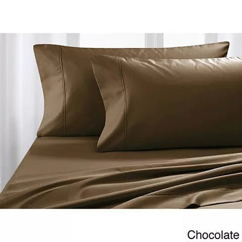 Luxurious Soft 100% Egyptian Cotton Dream Maker Bed Sheets 4 pc Set - VistaShops - 3