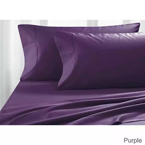 Luxurious Soft 100% Egyptian Cotton Dream Maker Bed Sheets 4 pc Set - VistaShops - 4