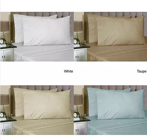Luxurious Soft 100% Egyptian Cotton Dream Maker Bed Sheets 4 pc Set - VistaShops - 5