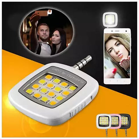 Mini Selfie LED Photo Light - VistaShops - 1