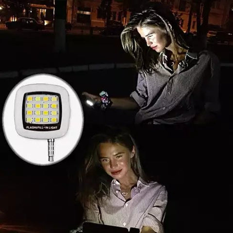 Mini Selfie LED Photo Light - VistaShops - 2
