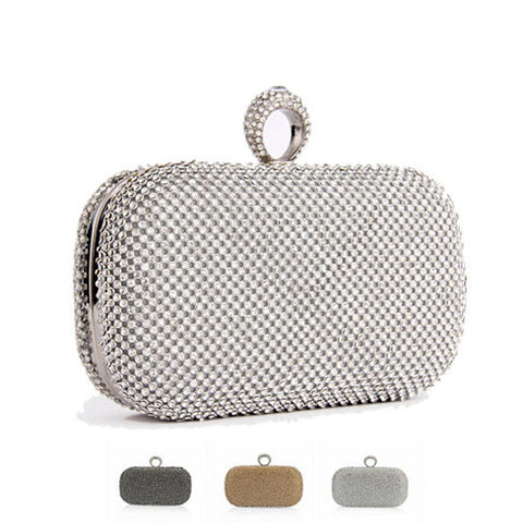 My Diamond Ring Clutch - VistaShops - 1