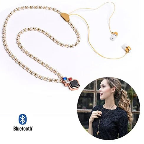 PLAY PEARLS Bluetooth Headset Necklace