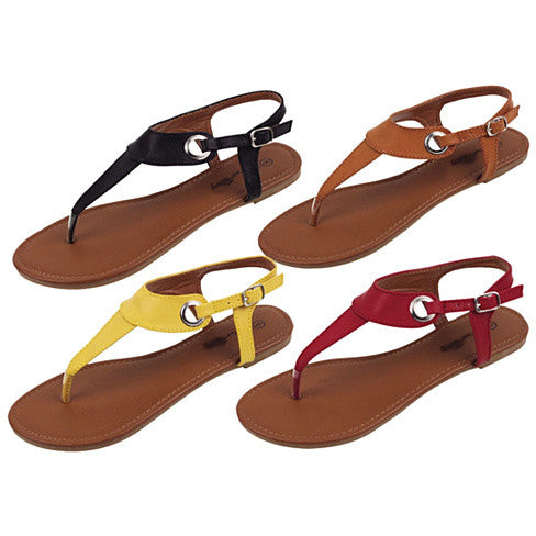 Plain Jane Simple Sandals - VistaShops