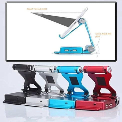 Podium Style Stand with Extended Battery - Up to 200% for iPad ,iPhone or any smart gadgets - VistaShops - 2
