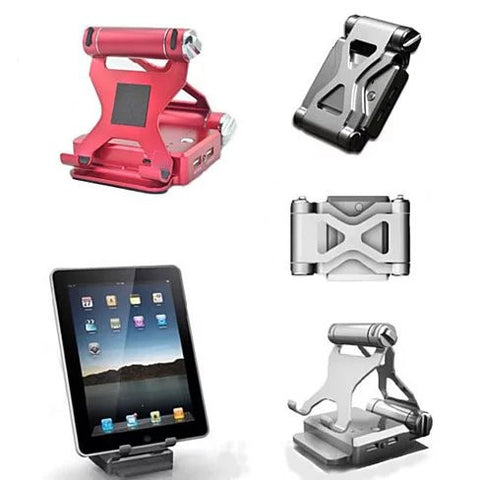 Podium Style Stand with Extended Battery - Up to 200% for iPad ,iPhone or any smart gadgets - VistaShops - 4
