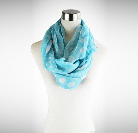 Polka Polka - The Playful Infinity Scarf - VistaShops - 1