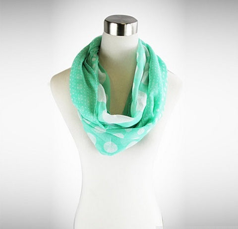 Polka Polka - The Playful Infinity Scarf - VistaShops - 2