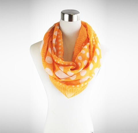Polka Polka - The Playful Infinity Scarf - VistaShops - 3