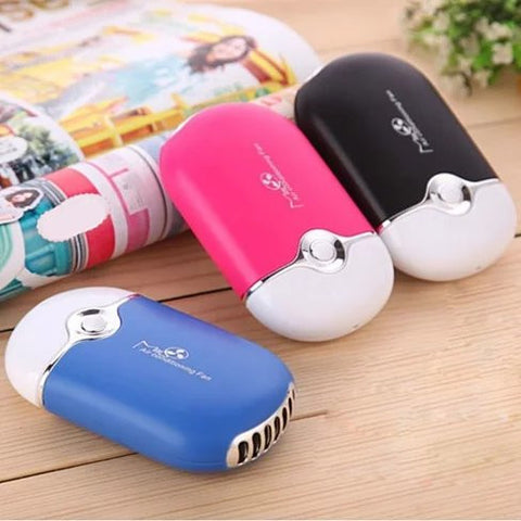 Porta Cooler Portable Air Conditioning USB Powered Personal Mini Fan - VistaShops - 2