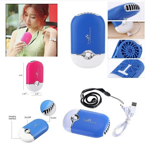 Porta Cooler Portable Air Conditioning USB Powered Personal Mini Fan - VistaShops - 3