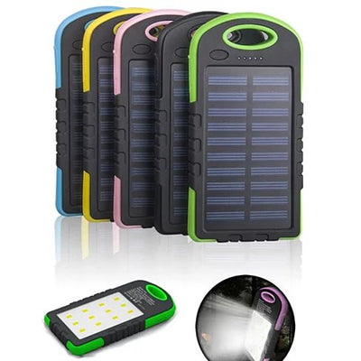 PowerGLO Echo Friendly Solar Charger With 12 Bright LED Lamps - VistaShops - 1