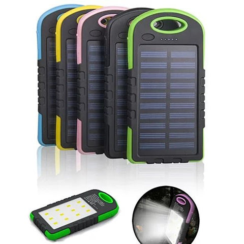 PowerGLO Echo Friendly Solar Charger With 12 Bright LED Lamps