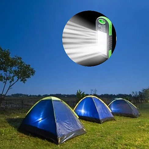 PowerGLO Echo Friendly Solar Charger With 12 Bright LED Lamps - VistaShops - 3