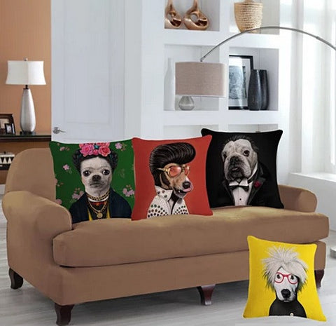 Puppy Love Cushion Covers - VistaShops - 1