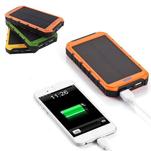 shopify-Roaming Solar Power Bank Phone or Tablet Charger-1
