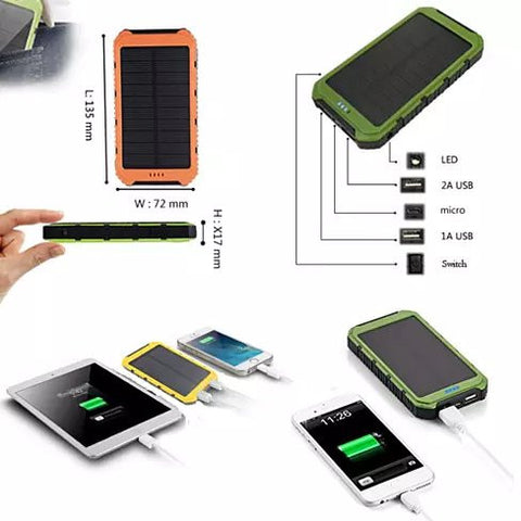 Roaming Solar Power Bank Phone or Tablet Charger - VistaShops - 2
