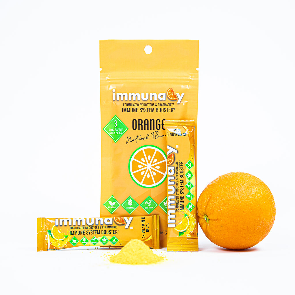 ImmunaCy Build Your Immune System Booster Drink Powder Packs