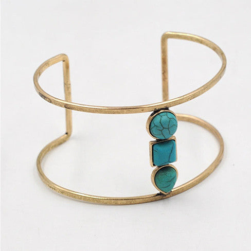 Sail With Me Minimalist Bracelet In Turquoise - VistaShops - 3
