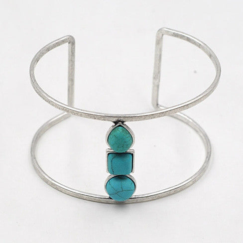 Sail With Me Minimalist Bracelet In Turquoise - VistaShops - 4