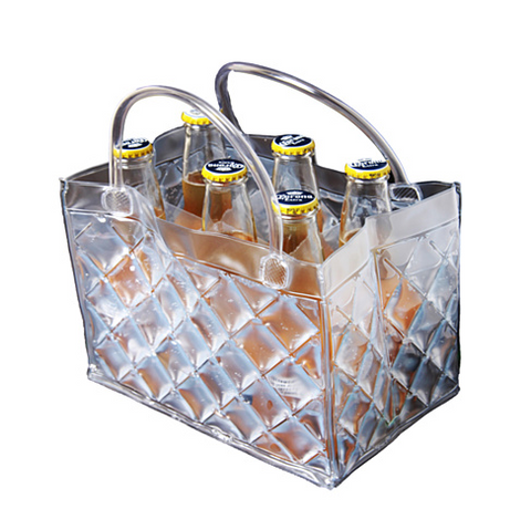 CHILL at WILL The 6 pack Beer Freezer Bags in various colors - VistaShops - 1