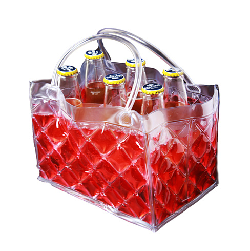 CHILL at WILL The 6 pack Beer Freezer Bags in various colors - VistaShops - 3