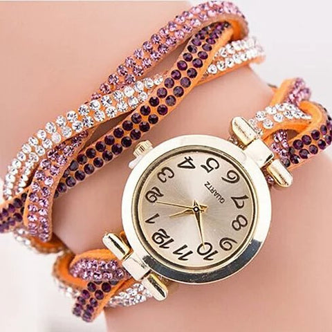 Shaded And Braided Resort Watch - VistaShops - 3