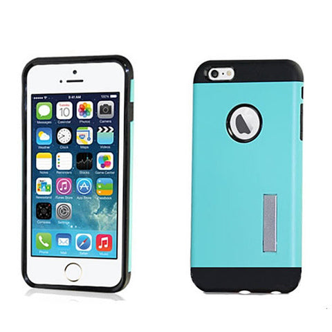 Slim Armour Double Layer Case for iPhone 6/6s/6Plus w/ Kick Stand - VistaShops - 2