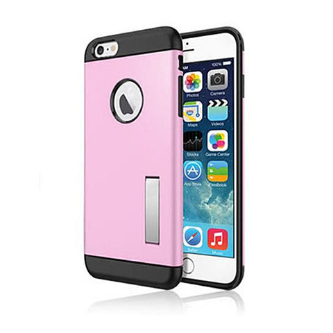 Slim Armour Double Layer Case for iPhone 6/6s/6Plus w/ Kick Stand - VistaShops - 3