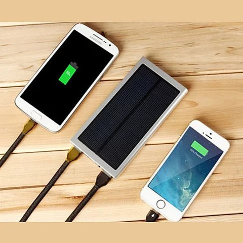 Slim Giant Solar Power Extender For All Gadgets with 2 USB Ports - VistaShops - 4