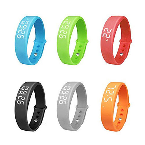 Smart-A-Rolla Simple Fitness Tracker Bracelet Style Watch And Pedometer Works w/o Smartphone - VistaShops - 4