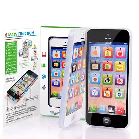 shopify-So Smart Toy Phone With 8 Fun And Learning Functions-2