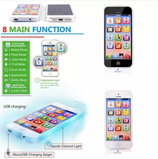 shopify-So Smart Toy Phone With 8 Fun And Learning Functions-4