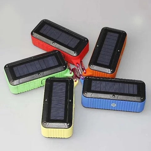 Solar Tunes Indoor Outdoor Solar Powered Bluetooth Speaker