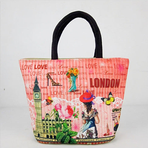 Souvenirs Hand Bags In Canvas From Journey Collection - VistaShops - 1